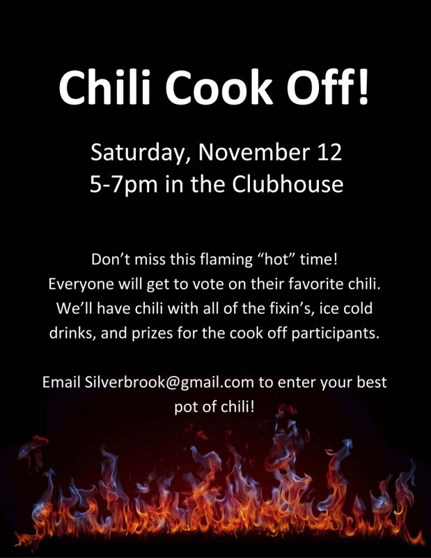 chili cook off hot