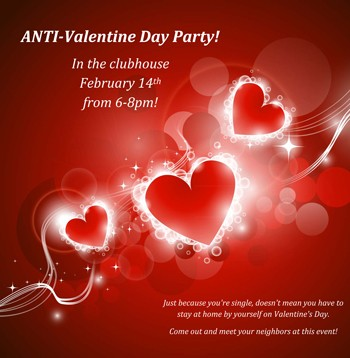 Anti Valentine S Day Party