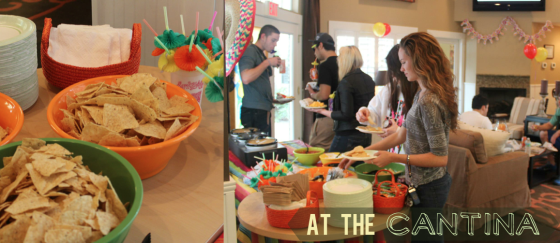 Nacho Bar for Resident Appreciation Week | CMC Apartments