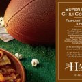 Super Bowl Chili Cook Off