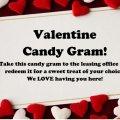 Valentine Candy Gram!