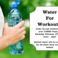 Water for Workouts