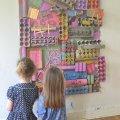 Trash into Treasure Recycled Art