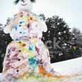 Sensational Snowman Building Contest