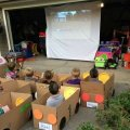 Cardboard Drive In Movie