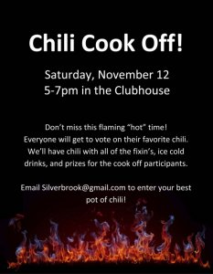 Chili Cook-off!