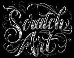 Scratch Art Lesson