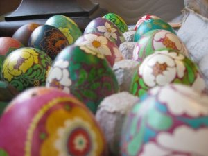 Pretty Pysanky Easter Egg Decorating Party