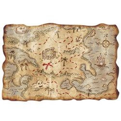 Treasure Map Scavenger Hunt Party