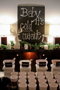 Hot Chocolate Bar For Your Winter Apartment Community Party