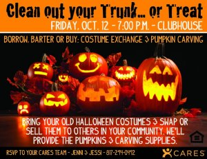 Clean Out Your Trunk or Treat!