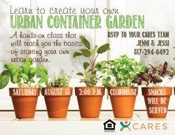 Urban Container Garden Party