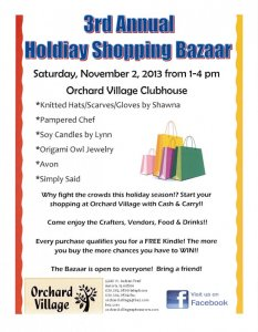 Holiday Shopping Bazzar
