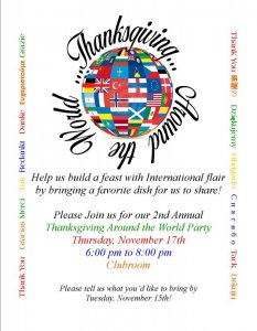 Thanksgiving Around the World