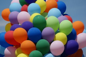 Exciting and Explosive Balloon Race Celebration