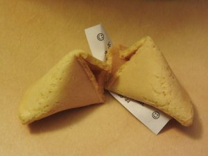 I Predict You Will Like This Idea:  Fortune Cookie Day