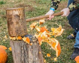 Smash It, Don't Trash It, Pumpkin Smash