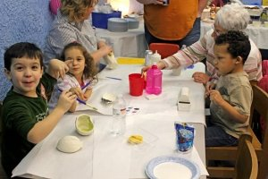 Mothers Day Pottery Party