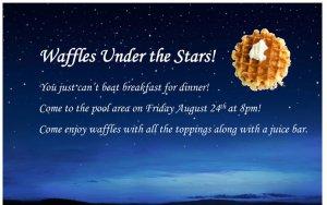 Waffles Under the Stars