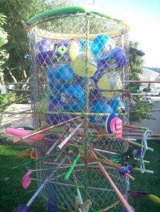 Skewer Kurplunk w/ Water Balloons