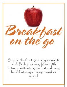 Breakfast On The Go!
