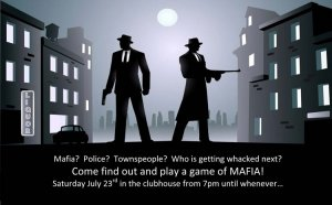 Mafia Game Night