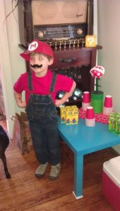 Super Mario Themed Apartment Party!